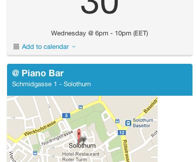 #TwBSO im Mai 2012 – offline treffen in Solothurn