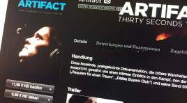 iTS Film der Woche «Artifact – Thirty Seconds to Mars»