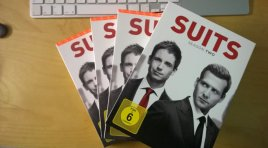 DVD «Suits Staffel 2» knackige Anwaltsserie mit Wettbewerb