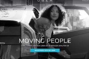 Uber ab sofort auch in Basel