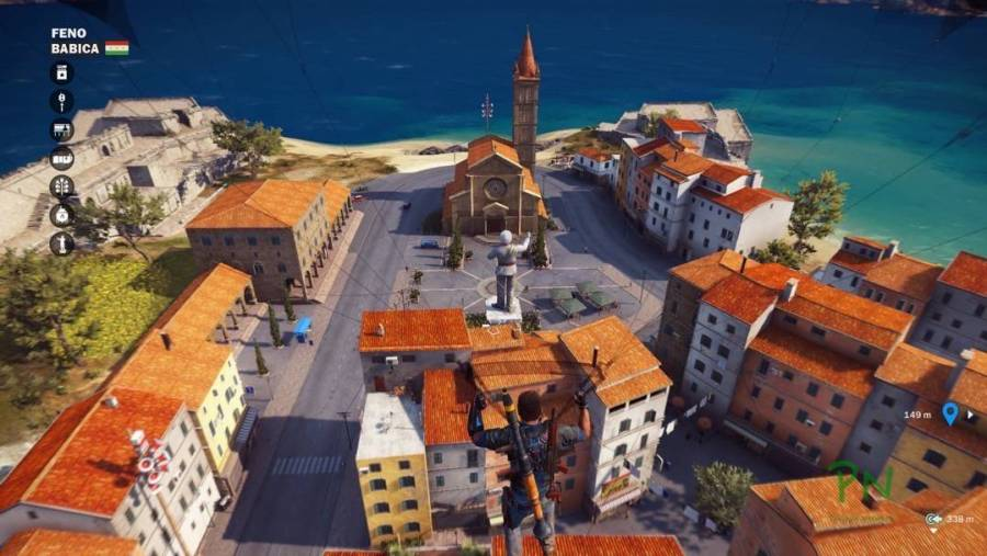 Just Cause 3 - Infiltration per Gleitschirm