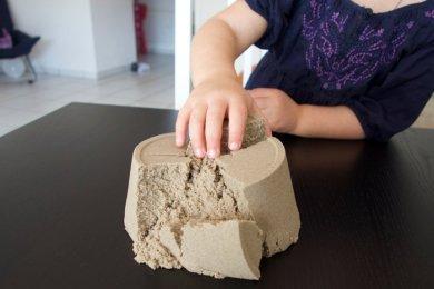 Bubber & Kinetic-Sand - Knete die nicht austrocknet - ein Testbericht