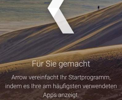 Arrow Launcher – Microsoft Launcher für Android
