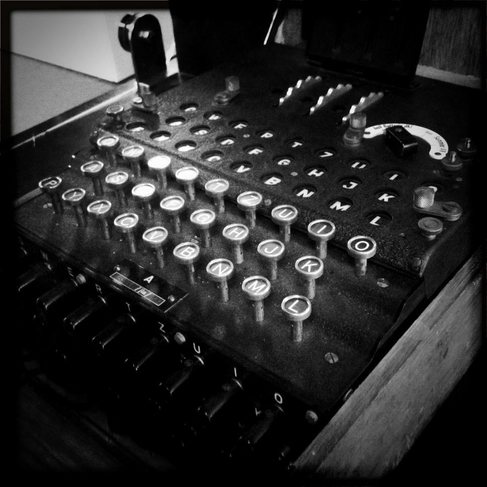 enigma coding machine