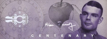 Alan Turing Centenary Apple