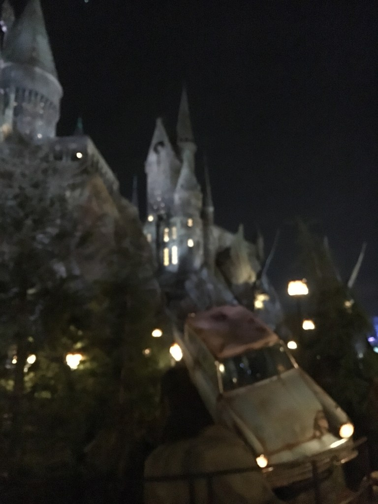 Technically the Weasley car, but, could've been my car on the 101 last Thursday.