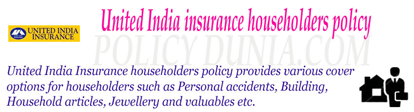 United India Householders Policy Image
