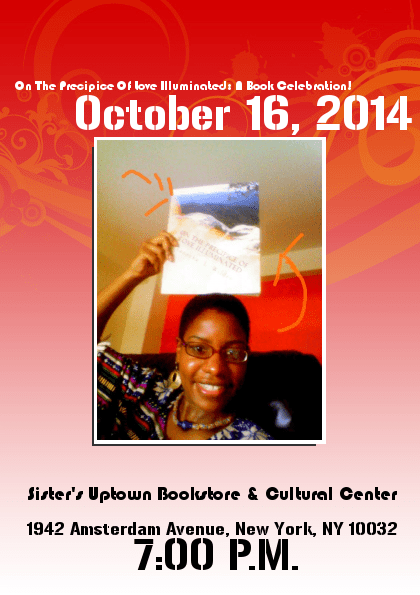 Taneeka Wilder to hold book signing at Sister's Uptown Bookstore Oct. 16th.