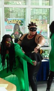 Cosplayers at the East Coast Black Age of Comics 2015