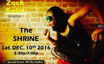Sista Zock Performs at The Shrine December 10th!