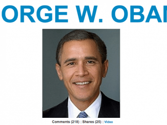 Photo-of-the-Day-George-W-Obama-by-The-Huffington-Post