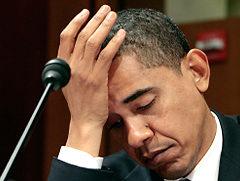 Tired President Obama