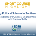 Short Course: Doing Political Science in Southeast Asia