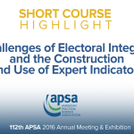 Short Course: Challenges of Electoral Integrity
