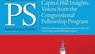 Lest Congress Forgets: A Fellow's Walk and Institutional Partisanship in Contemporary Representational Politics