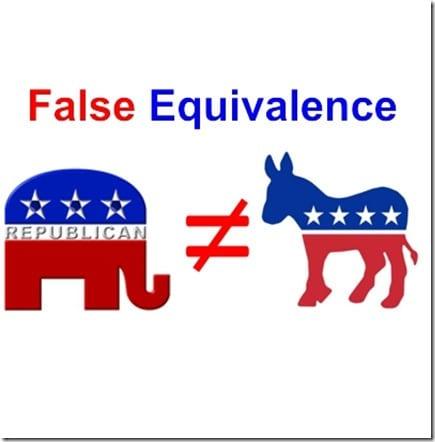 False-Equivalency