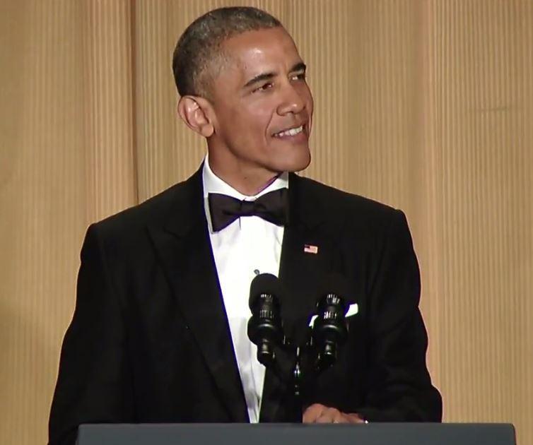 Obama 2015 White House Correspondents' Dinner