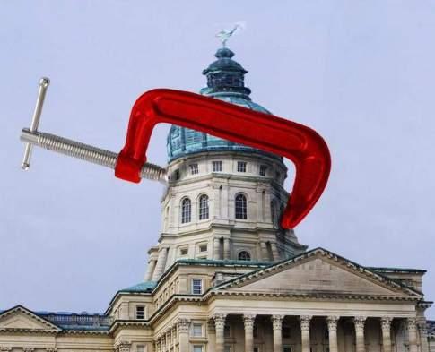 Kansas budget squeeze