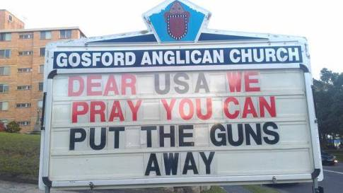 pray you can put away the guns
