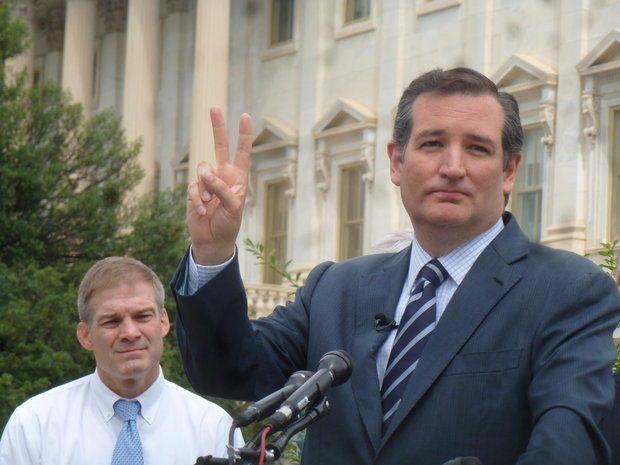 Jim Jordan and Ted Cruz