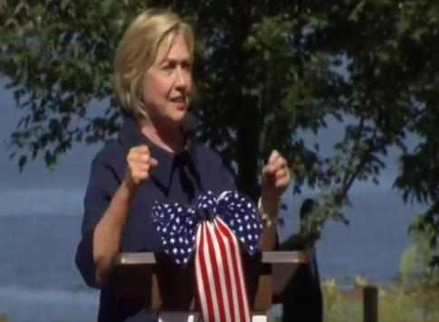 Hillary Clinton labor day speech Chicago