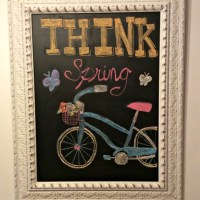 Guest Post - Chalkboard Art