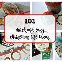 101 Easy Christmas Gift Ideas