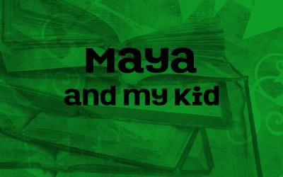 Maya Angelou and my son