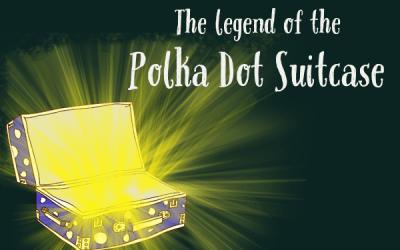 Polka Dot Suitcase