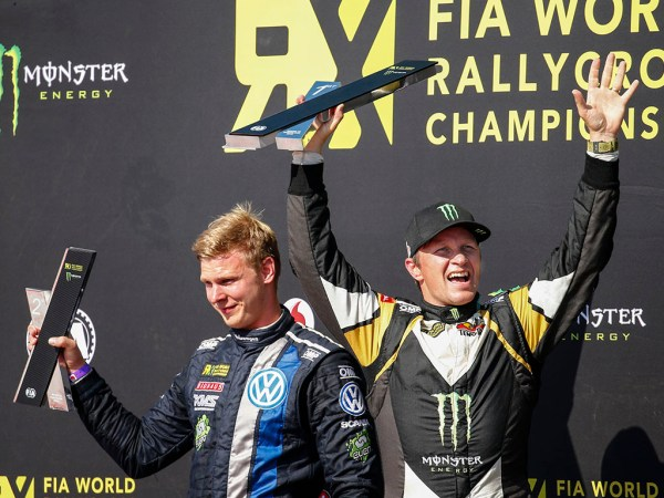 Johan Kristoffersson and Petter Solberg
