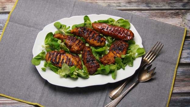 pyszna marynata i pierś kurczaka z grilla