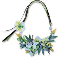Vee Stevens polymer flowers