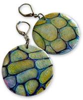 Uliczny's mokume earrings