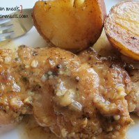 braised chicken thighs and red potatoes