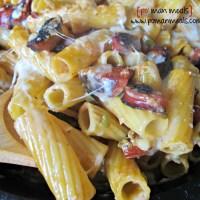 spicy chipotle sausage pasta