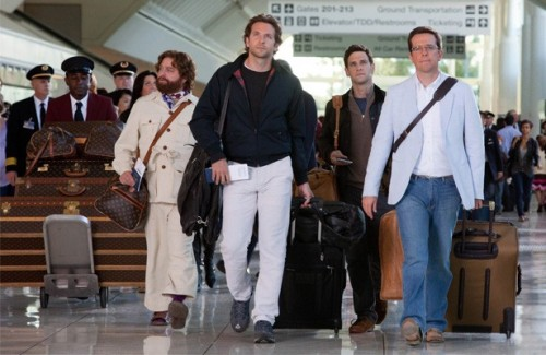 hangover 2 wolfpack walking through the airport