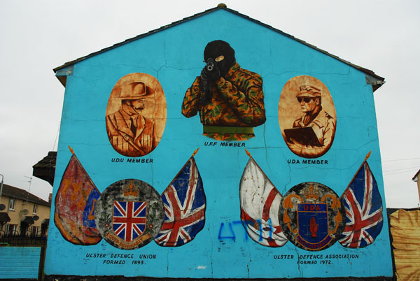 Political Mural in Belfast