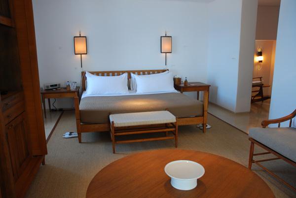 Bedroom in the Sveti Stefan Suite