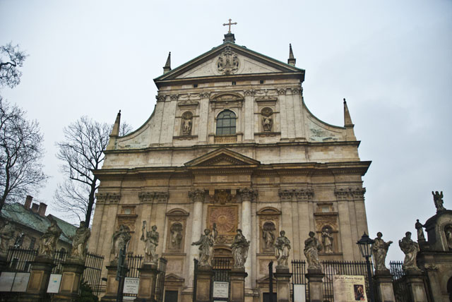 St.Peter and Paul Church in Krakow, Poland
