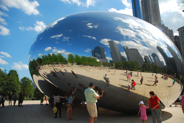 The Bean Chicago- Fun things to do in Chicago
