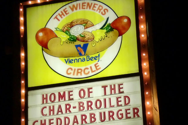The Weiners Circle Chicago- fun things to do in Chicago
