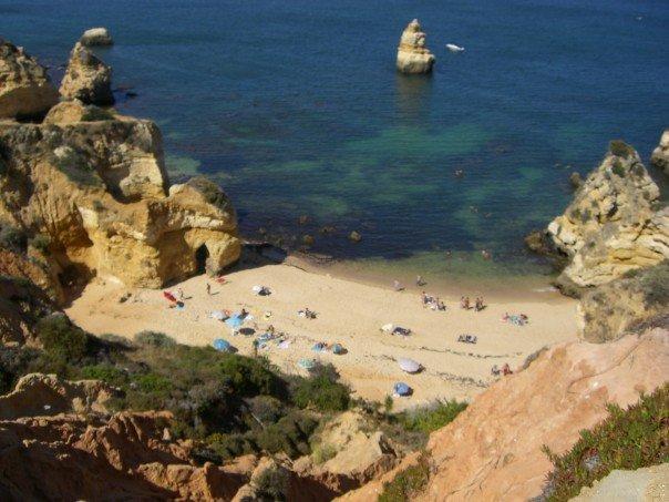Beach in The Algarve, Portugal