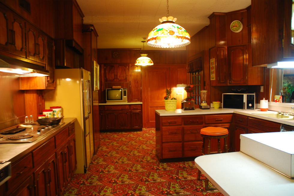 Kitchen at Elvis's Graceland Mansion
