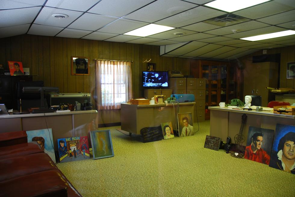 Elvis Presley's Graceland Office