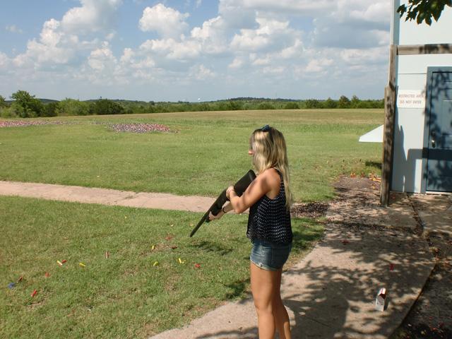 Shooting Guns in Texas