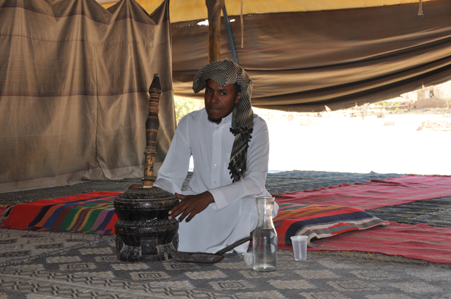 Sfinat Hamidbar Bedouin Camp in Israel