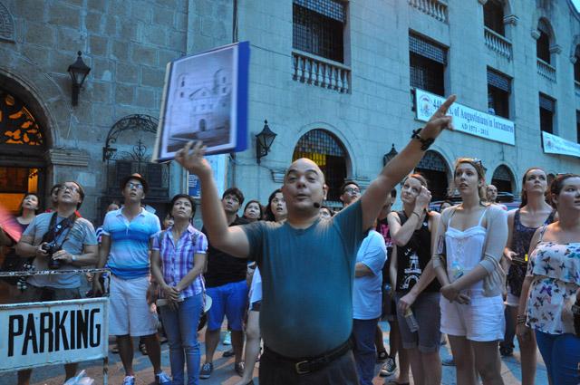 Carlos Celdran Intramuros Walking Tour San Augustin