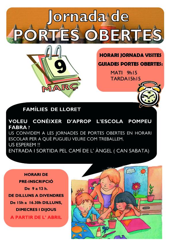 RETOL JORNADA PORTES OBERTES 17-18