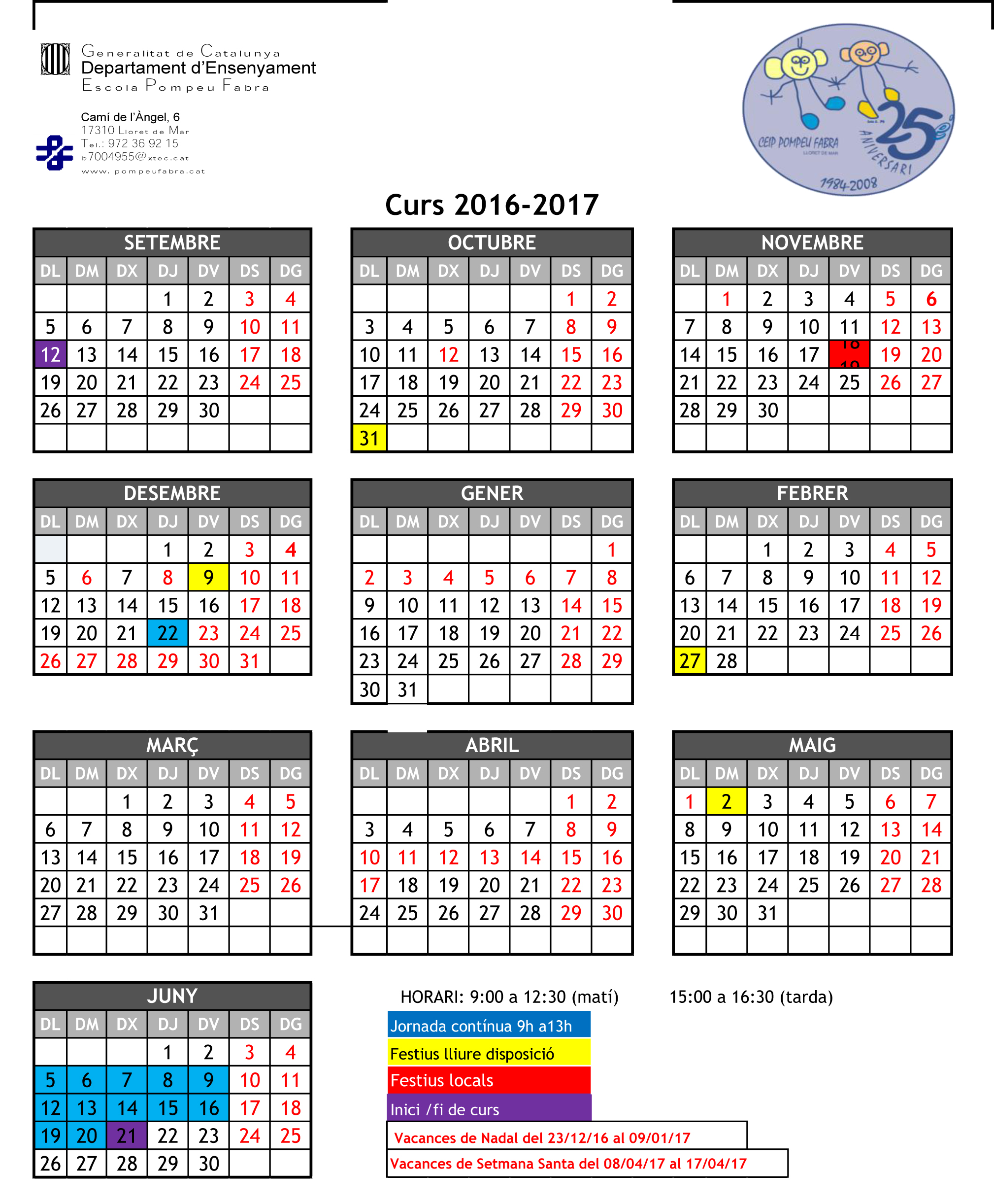 calendari 2016-17