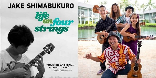 ジェイク・シマブクロのドキュメンタリー映画「Life On Four Strings」上映